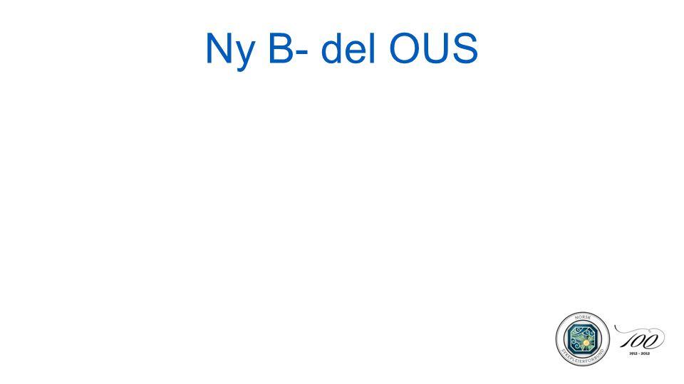Ny B- del OUS