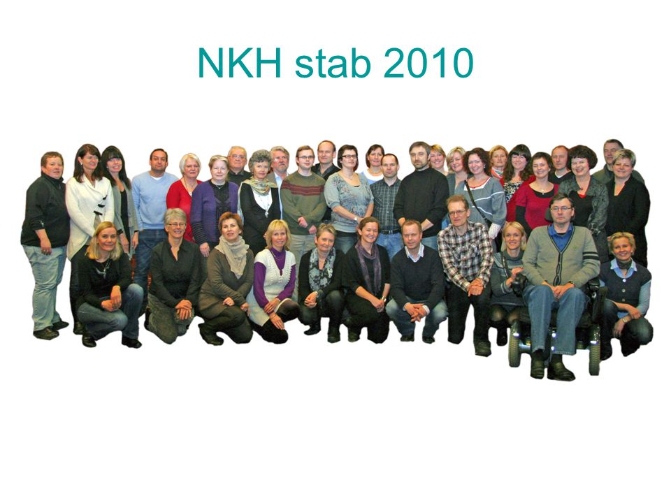 NKH stab 2010 Grunnlagt 2002