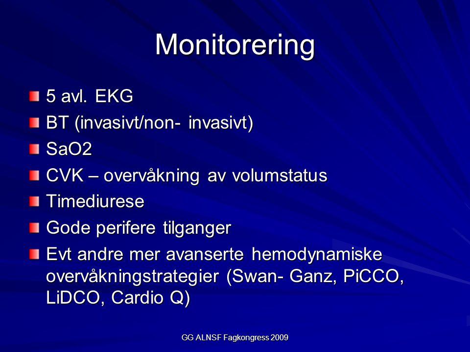 GG ALNSF Fagkongress 2009 Monitorering 5 avl.