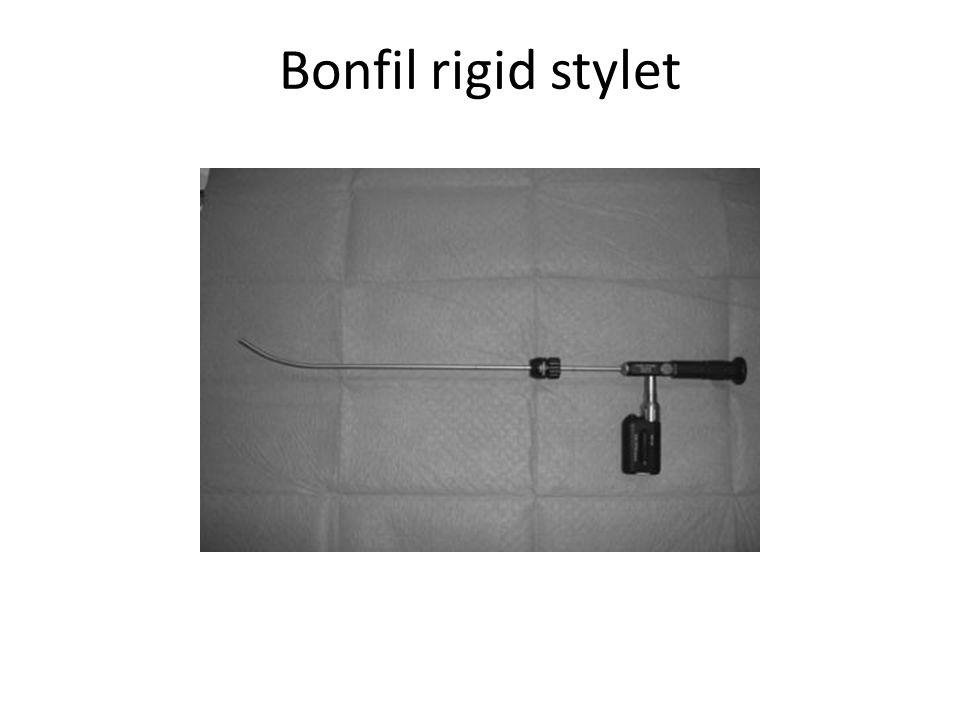 Bonfil rigid stylet