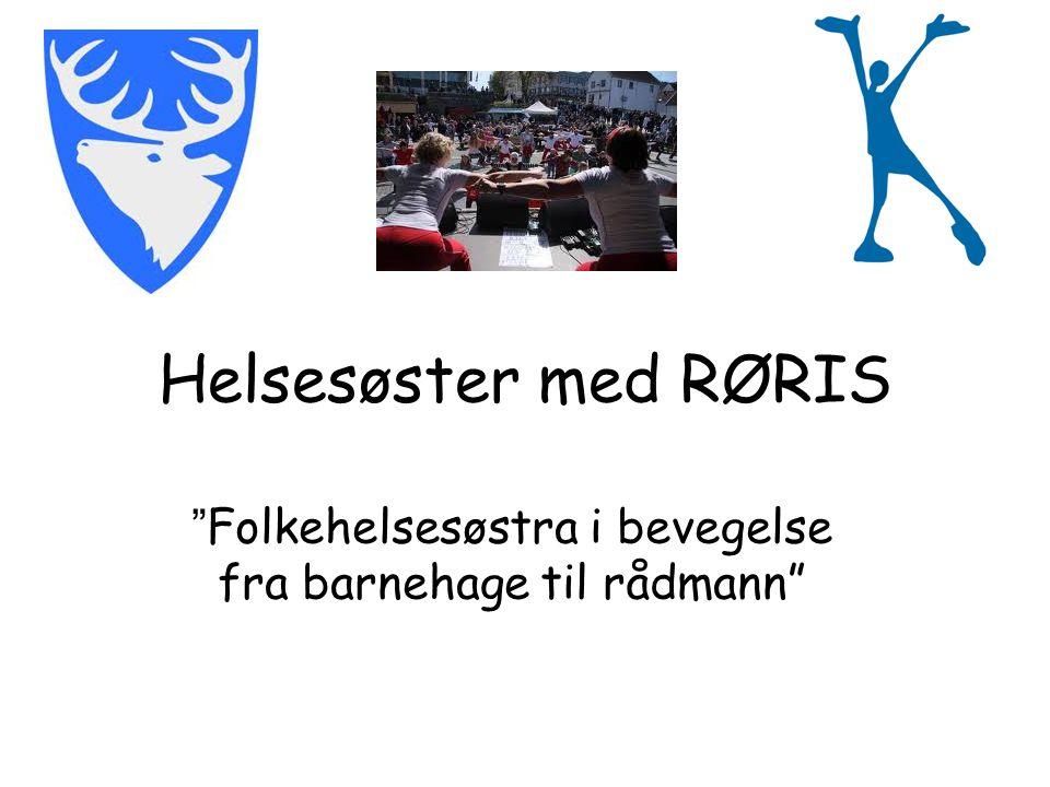 Helsesøster med RØRIS Folkehelsesøstra i bevegelse fra barnehage til rådmann