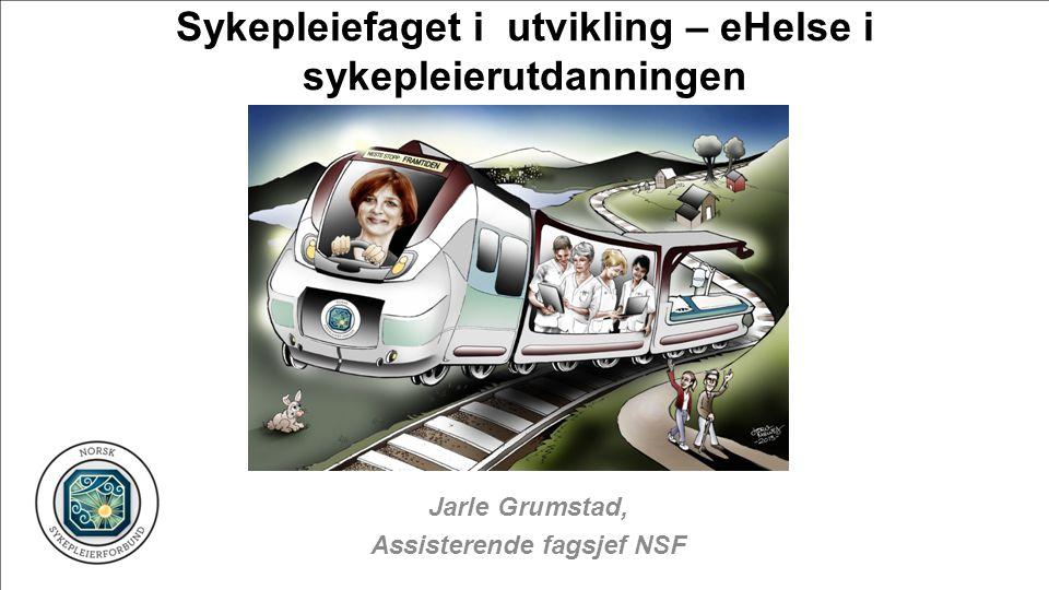 Jarle Grumstad, Assisterende fagsjef NSF Sykepleiefaget i utvikling – eHelse i sykepleierutdanningen