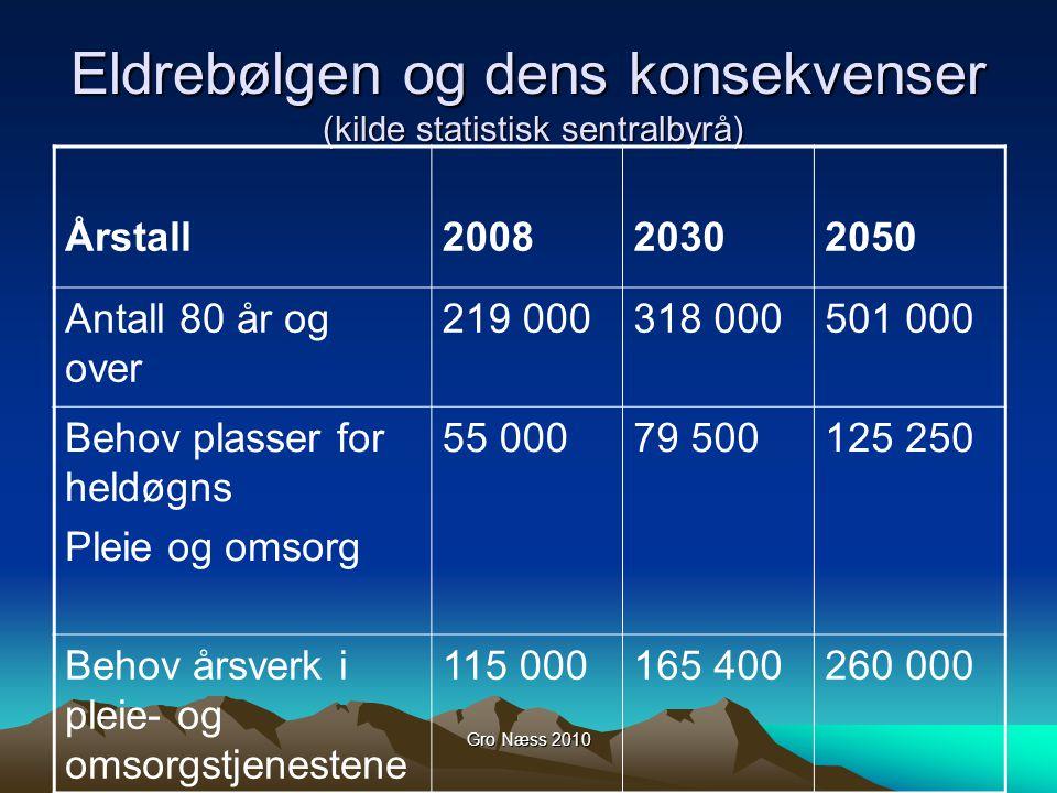 Gro Næss 2010 Konsekvenser for pasienten.
