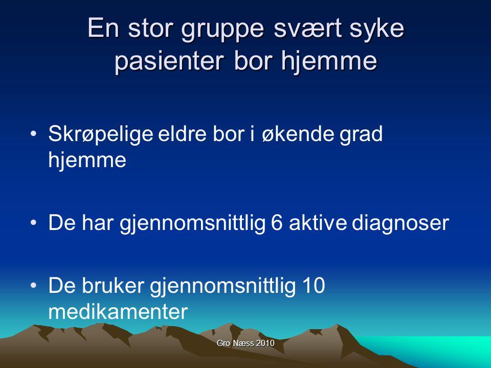 Gro Næss 2010 Funksjonssvikt – har pasienten fått en ny sykdom.
