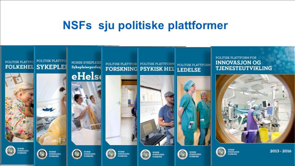 NSFs politisk plattform Sykepleierutdanning