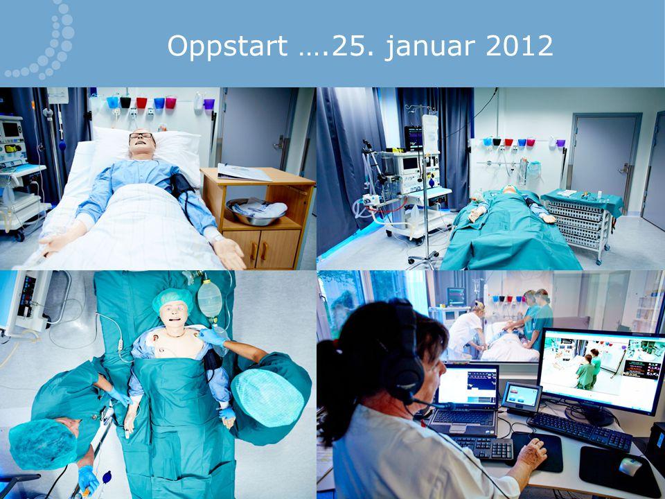 Oppstart ….25. januar 2012