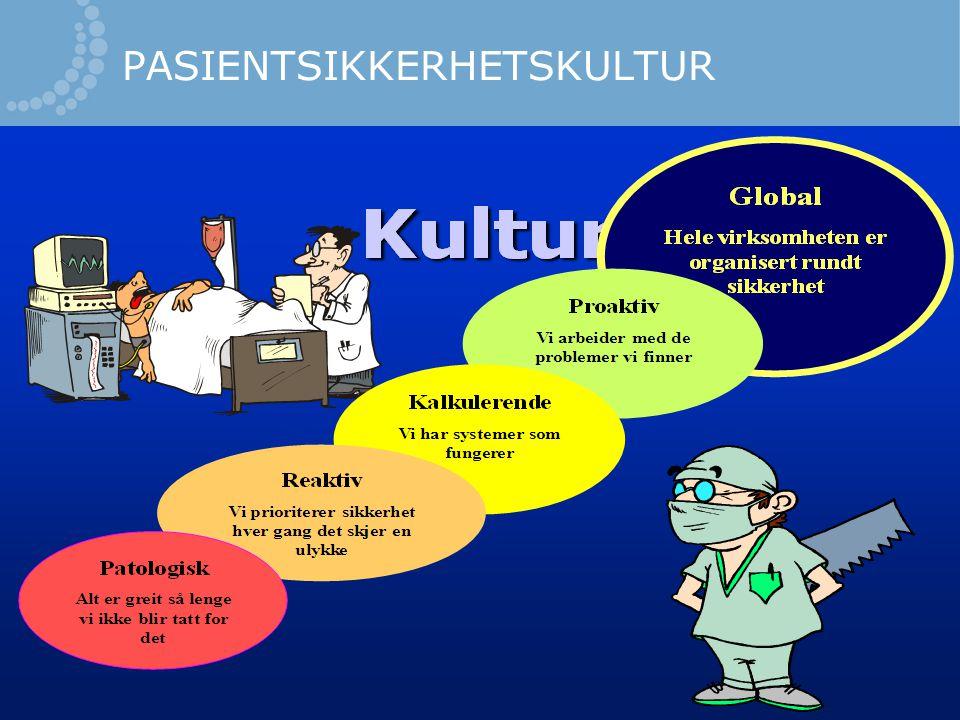 PASIENTSIKKERHETSKULTUR