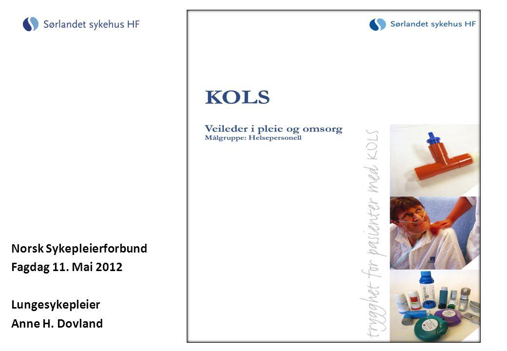 Norsk Sykepleierforbund Fagdag 11. Mai 2012 Lungesykepleier Anne H. Dovland