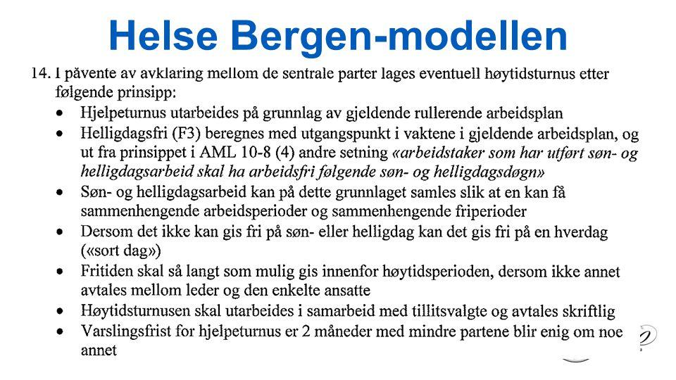 Helse Bergen-modellen