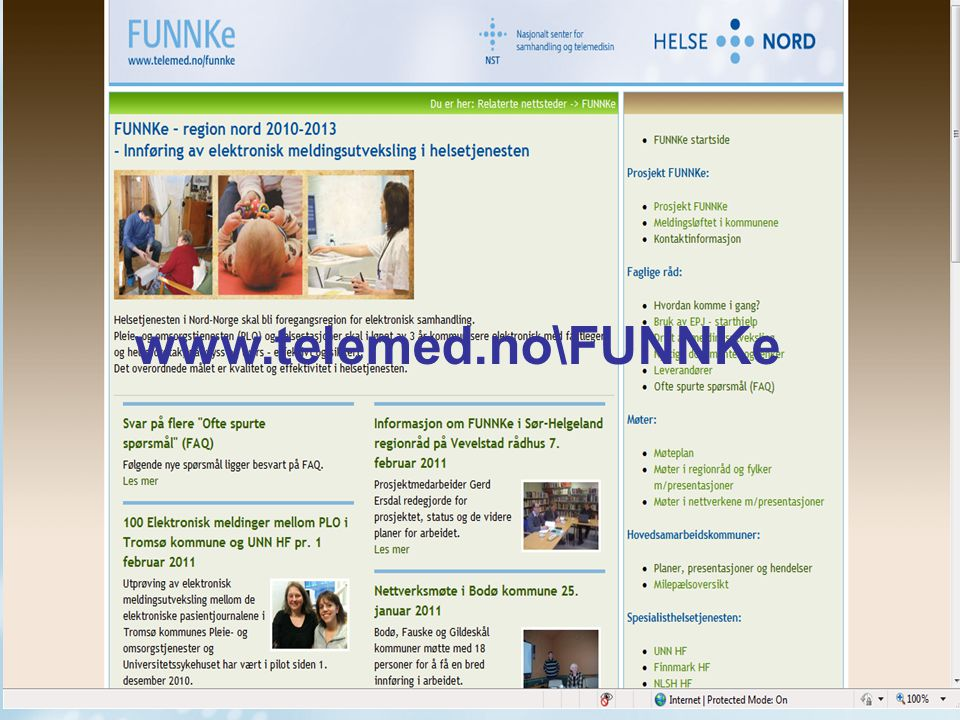 www.telemed.no\FUNNKe