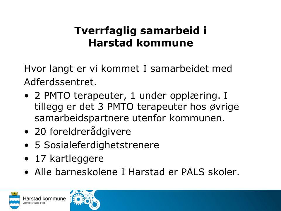 Tverrfaglig samarbeid i Harstad kommune - Koordinator for forebyggende arbeid, februar 2006.