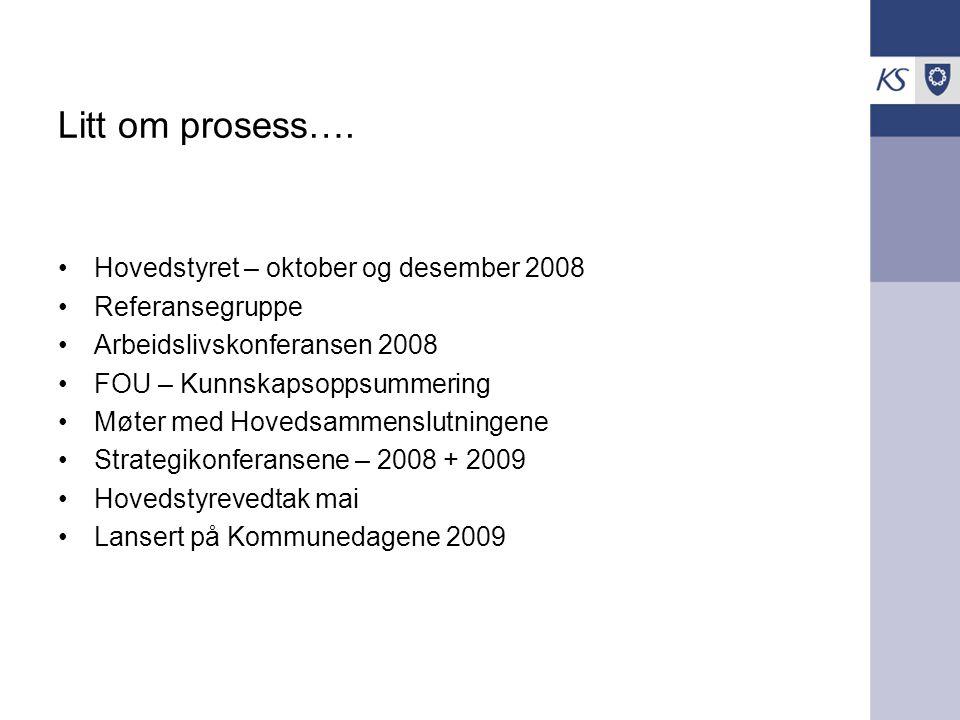 Innsatsområder 2009 - 2011 Lederutvikling Arb.