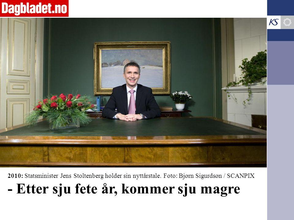 2010: Statsminister Jens Stoltenberg holder sin nyttårstale.