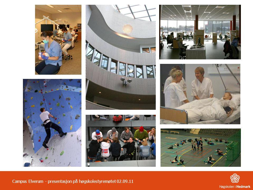 Campus Elverum - presentasjon på høgskolestyremøtet 02.09.11