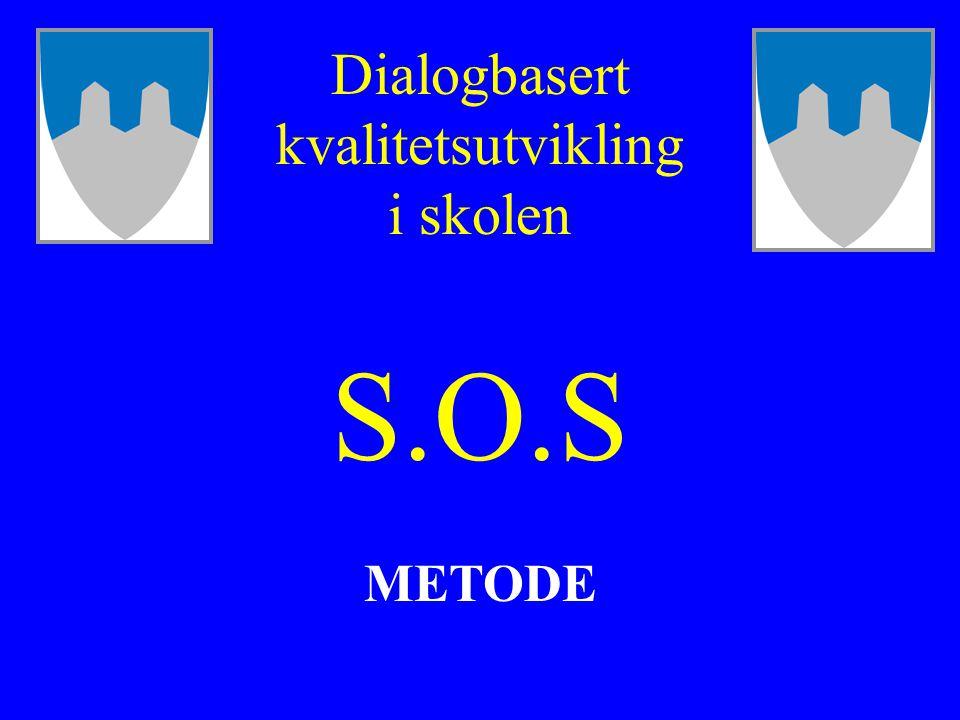 S.O.S METODE Dialogbasert kvalitetsutvikling i skolen