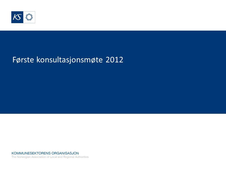 Første konsultasjonsmøte 2012