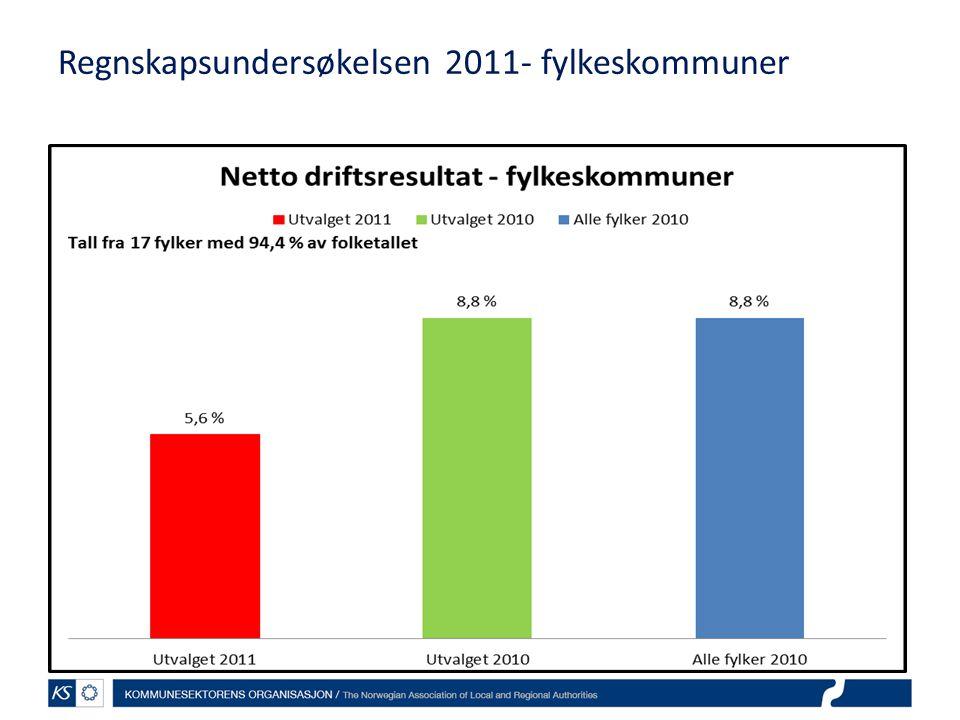 Regnskapsundersøkelsen 2011- fylkeskommuner