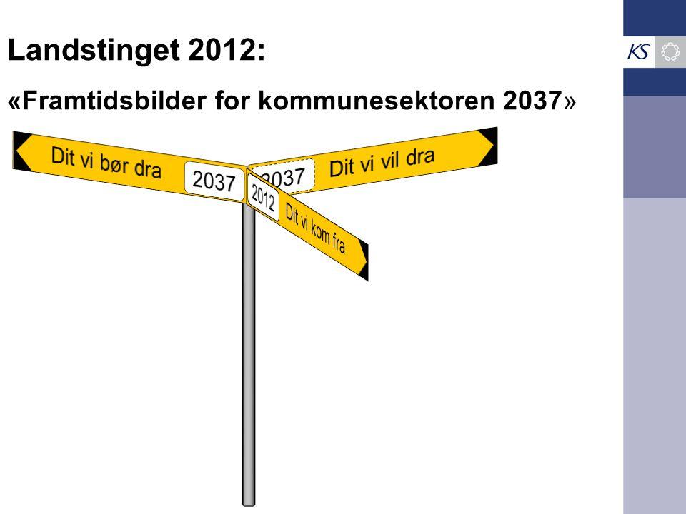 Landstinget 2012: «Framtidsbilder for kommunesektoren 2037»