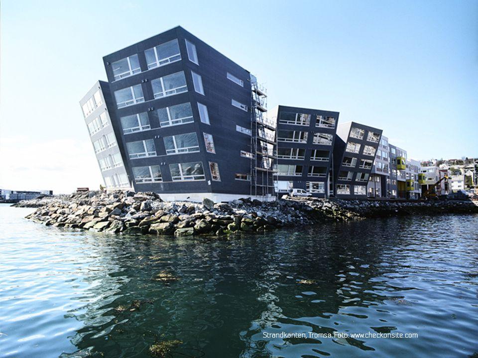 SINTEF Byggforsk Strandkanten, Tromsø. Foto: www.checkonsite.com