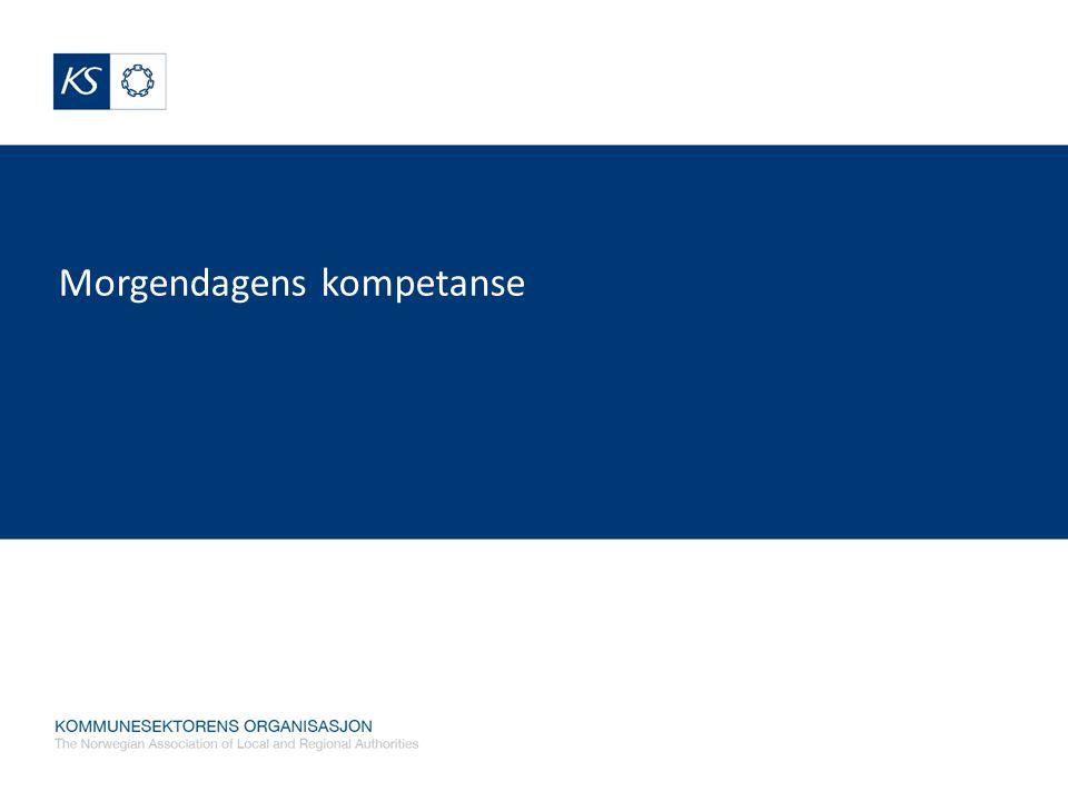 Strategisk kompetansestyring Er planlegging, gjennomføring og evaluering av tiltak for å sikre virksomheten og den enkelte medarbeider nødvendig kompetanse for å nå definerte mål (Linda Lai 2004) For å sikre kommunen kvalitet på tjenestene For å oppnå effektiv ressursutnyttelse For å få et godt omdømme som en attraktiv arbeidsplass.