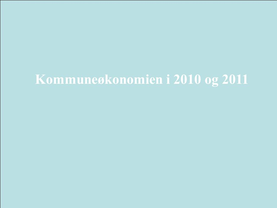 3 Frie inntekter 2010 og 2011 demografi og pensjon 2011 Kilder: Teknisk beregningsutvalg, Finansdepartementet, KS