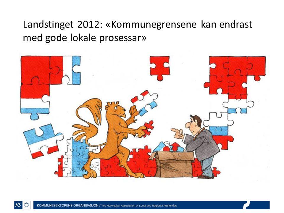 Framtidens kommunestruktur - kommuner med ansvar for egen utvikling (2003-2005) Generalistkommunen under press dersom større velferdsansvar.