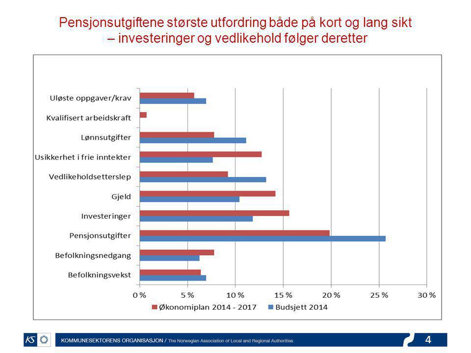 5 Utgifter til sosialtjenester og barnevern forventes å øke mest i 2014.