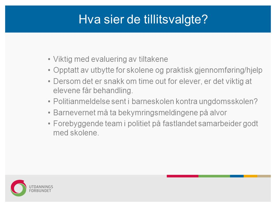 Møte med oppvekst og kultursjefen Saker vi har meldt inn til møtet på fredag Torvastad skole Om den saken ble det orientert i AMU i går, at fristen for å komme med innspill nærmer seg, (1.