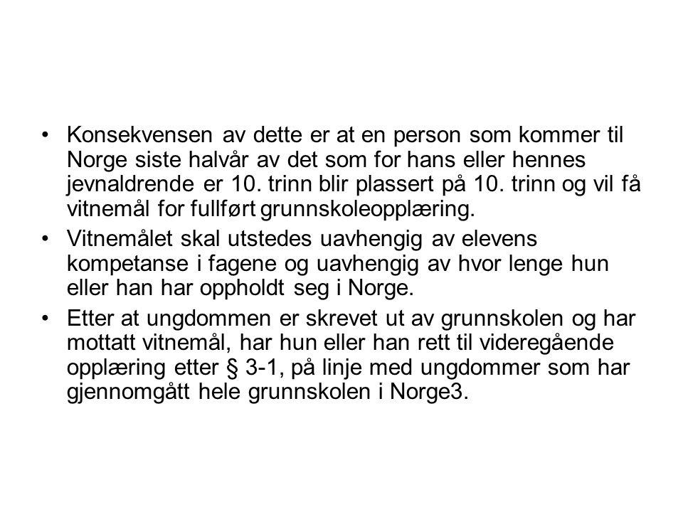 § 4A-3.Rett til vidaregåande opplæring for vaksne Vaksne som har fullført norsk grunnskole eller tilsvarande, men som ikkje har fullført vidaregåande opplæring, har etter søknad rett til vidaregåande opplæring.
