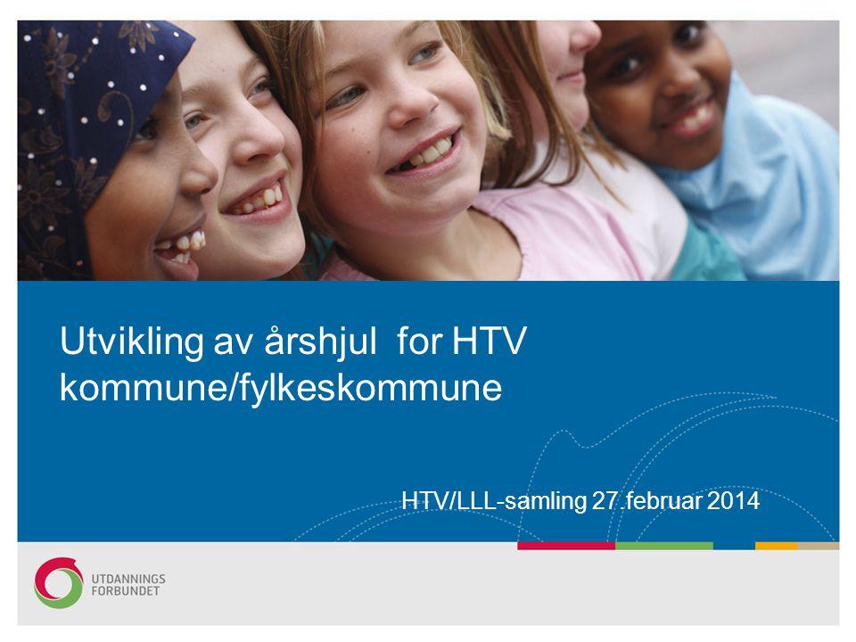 HTV/LLL-samling 27.februar 2014 Utvikling av årshjul for HTV kommune/fylkeskommune