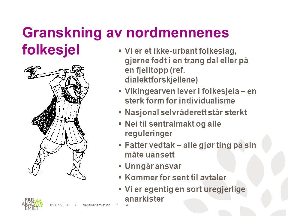 09.07.2014fagakademiet.no15// Konflikt er ikke uenighet.