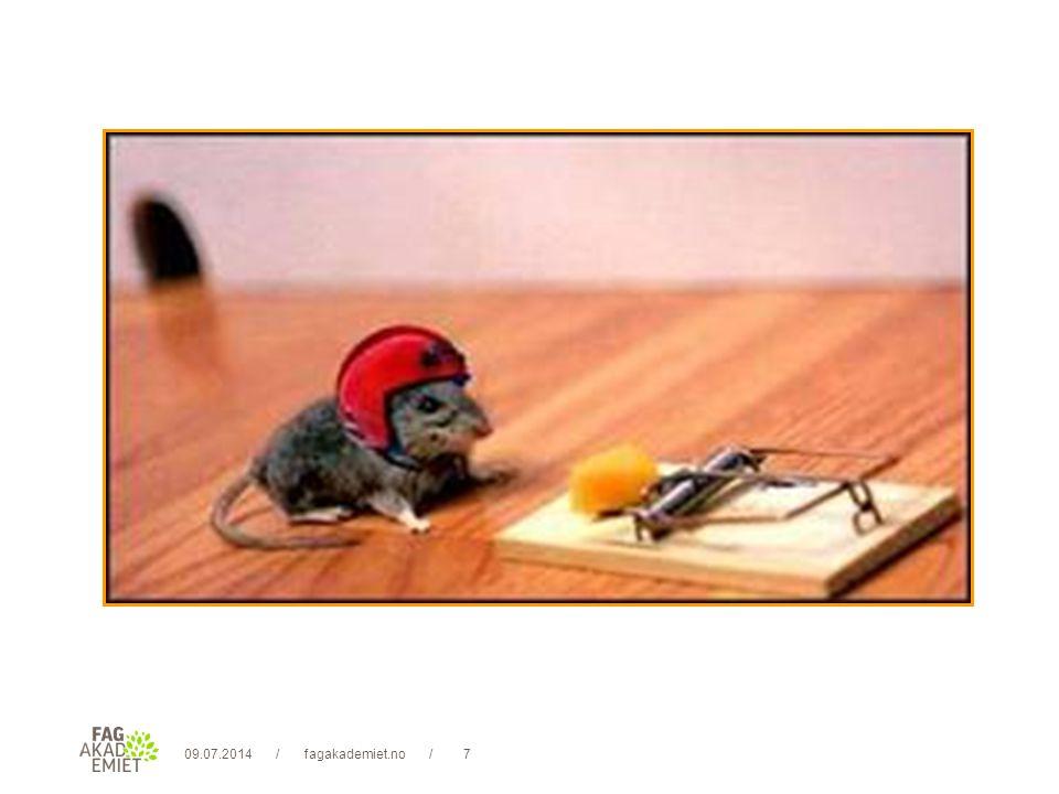 09.07.2014fagakademiet.no38// 12) Jeg unngår bruk av annonyme ytre kilder Bebreidelser med henvisning til diffuse ytre kilder er ytterst destruktivt og giftig.