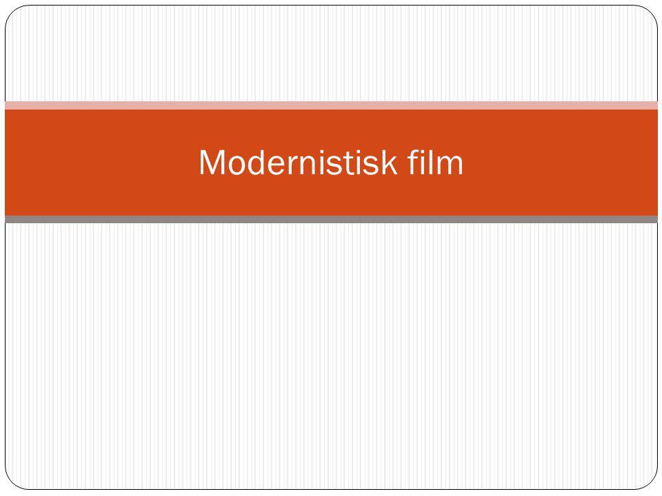 Modernistisk film