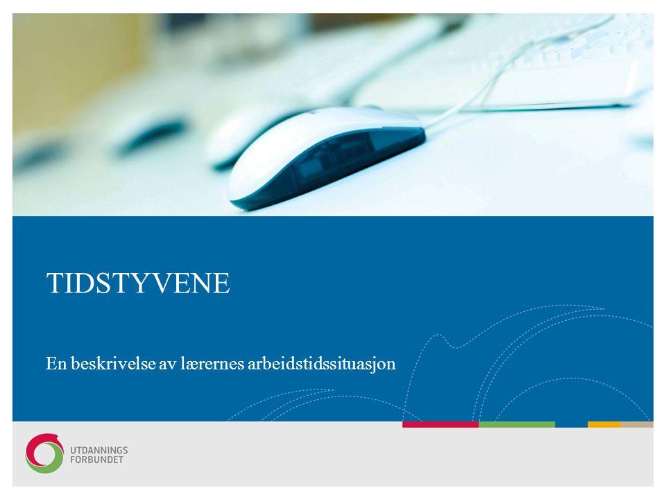 Lene Engdahls2 Tidstyvene Fafo-rapport 2009:23 av Bård Jordfall, Torgeir Nyen og Aarup Seip.