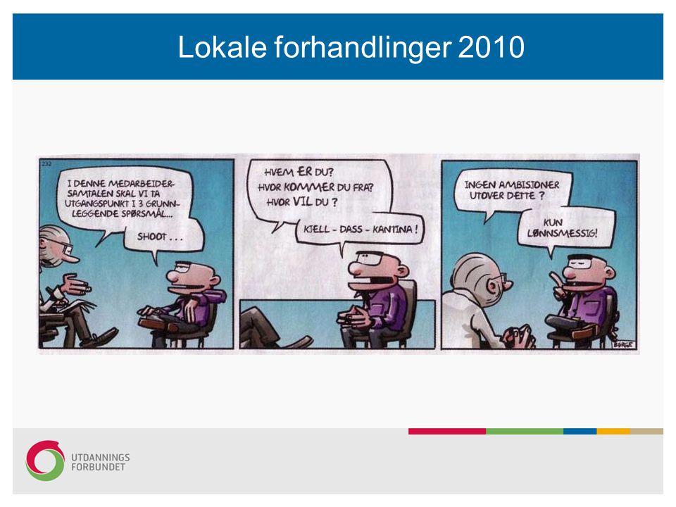 Lokale forhandlinger 2010