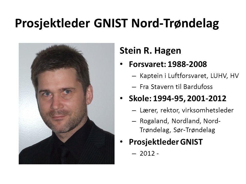 Prosjektleder GNIST Nord-Trøndelag Stein R.