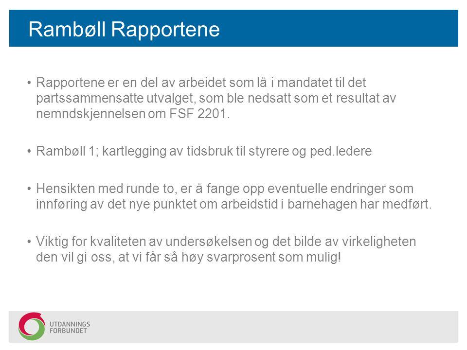 Rambøll Rapportene Rapportene er en del av arbeidet som lå i mandatet til det partssammensatte utvalget, som ble nedsatt som et resultat av nemndskjen