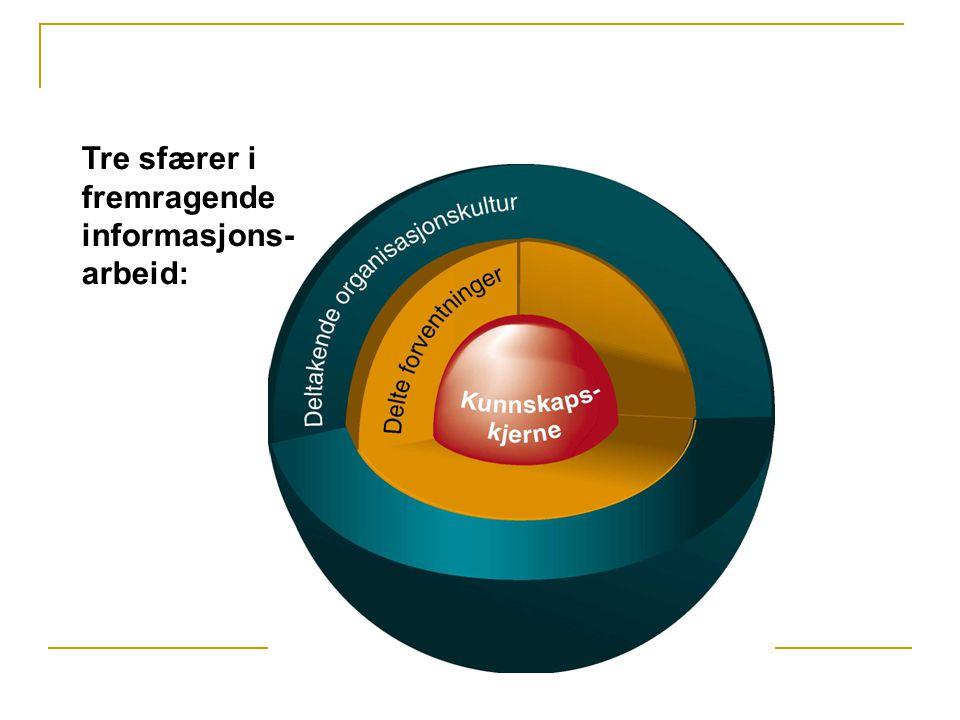 Deltagende organisasjonskultur  En lyttende kultur for å kunne utnytte organisasjonens samlede kunnskap.