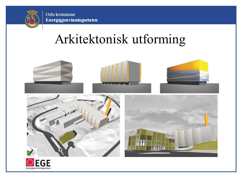 Oslo kommune Energigjenvinningsetaten Arkitektonisk utforming