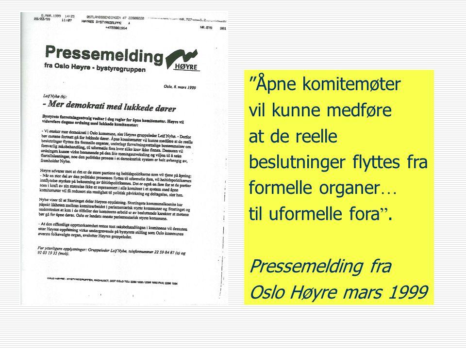 Arne Jensen Norsk Redaktørforening Økonomiske rammeavtaler  …er ment å dekke de tilfelle hvor det offentlige fører forhandlinger med nærings- organisasjoner o l om betaling for visse ytelser som faller utenfor det alminnelige lønnsoppgjøret, f eks jordbruks- og fiskerioppgjøret (Justisdepartementet i Ot prp nr 4 1981-82)