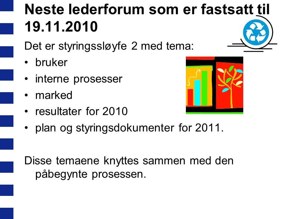 Arbeidsoppgaver for gruppene framover – minimum 2 samlinger før 19.11.2010: Kartlegge forventninger til medvirkning og hvordan medvirkning fungerer i