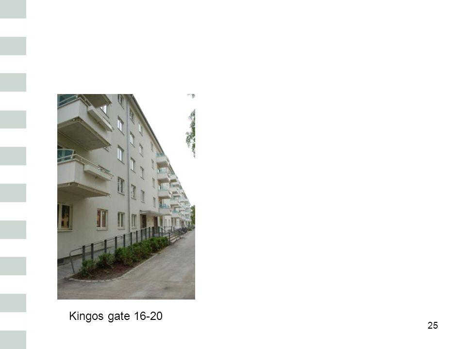 25 Kingos gate 16-20