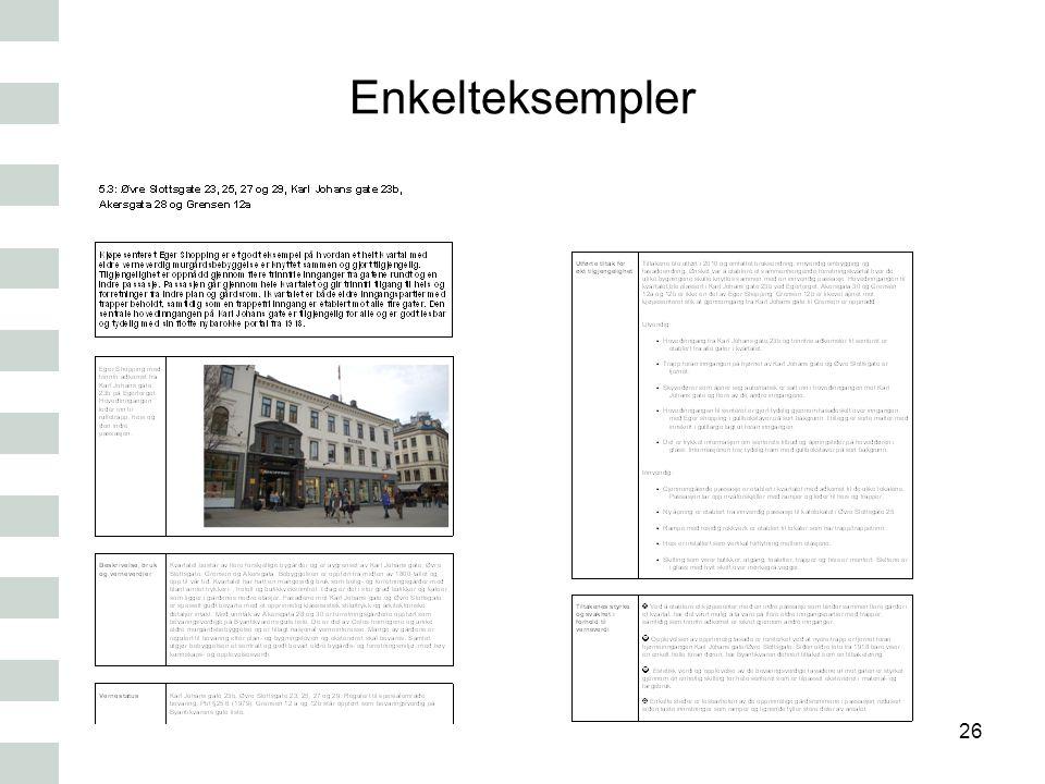 Enkelteksempler 26