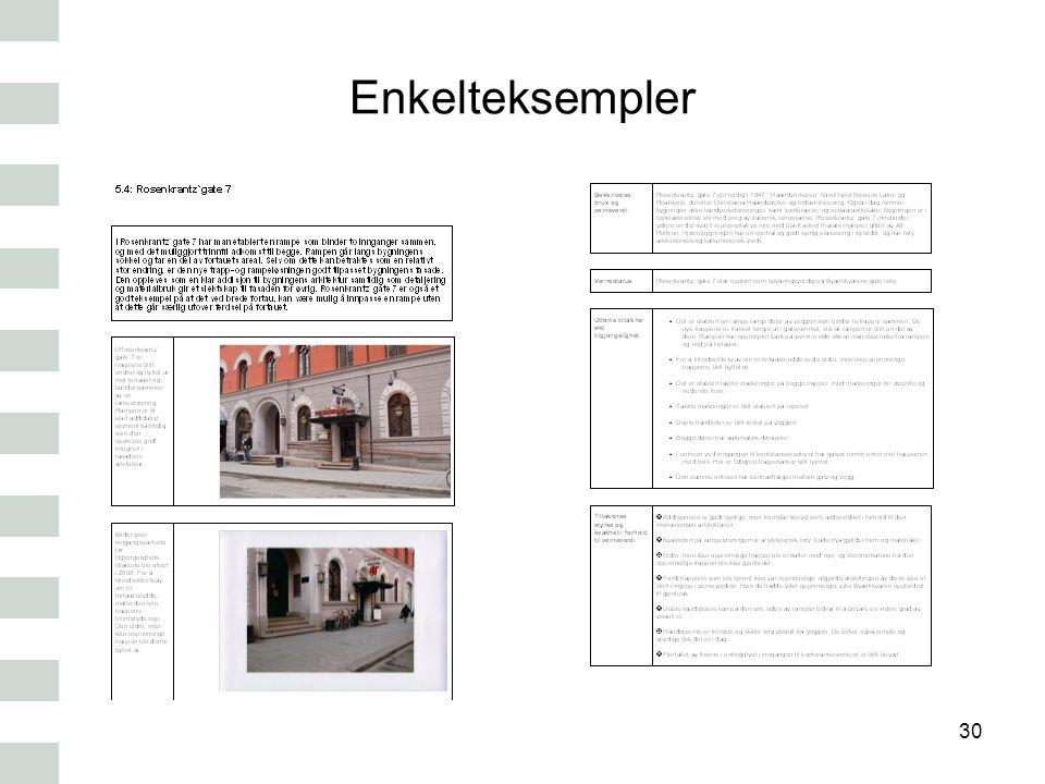 Enkelteksempler 30