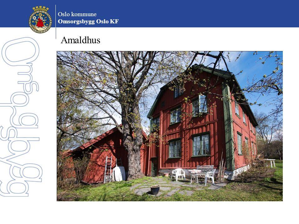 Oslo kommune Omsorgsbygg Oslo KF Amaldhus