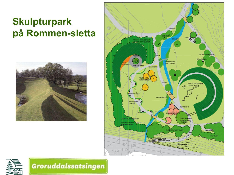 Skulpturpark på Rommen-sletta