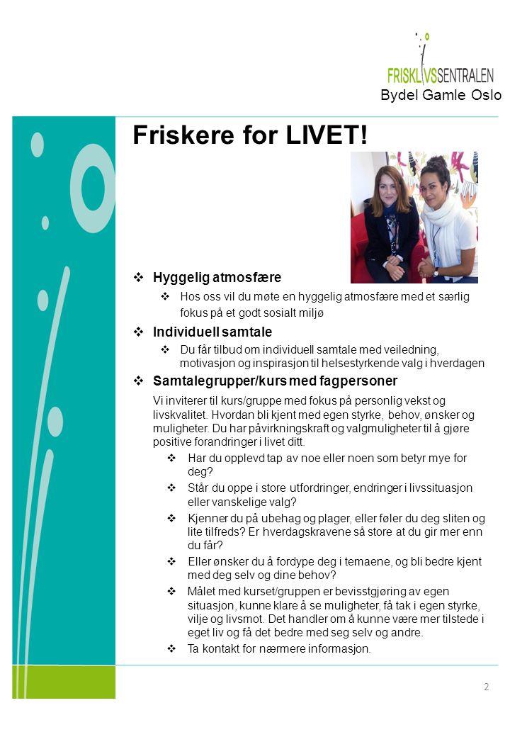 Friskere for LIVET.