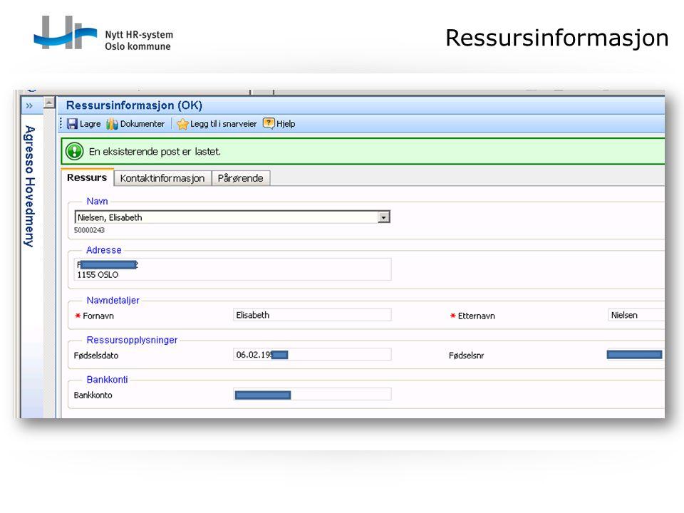 Ressursinformasjon