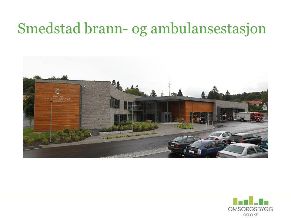 Smedstad brann- og ambulansestasjon