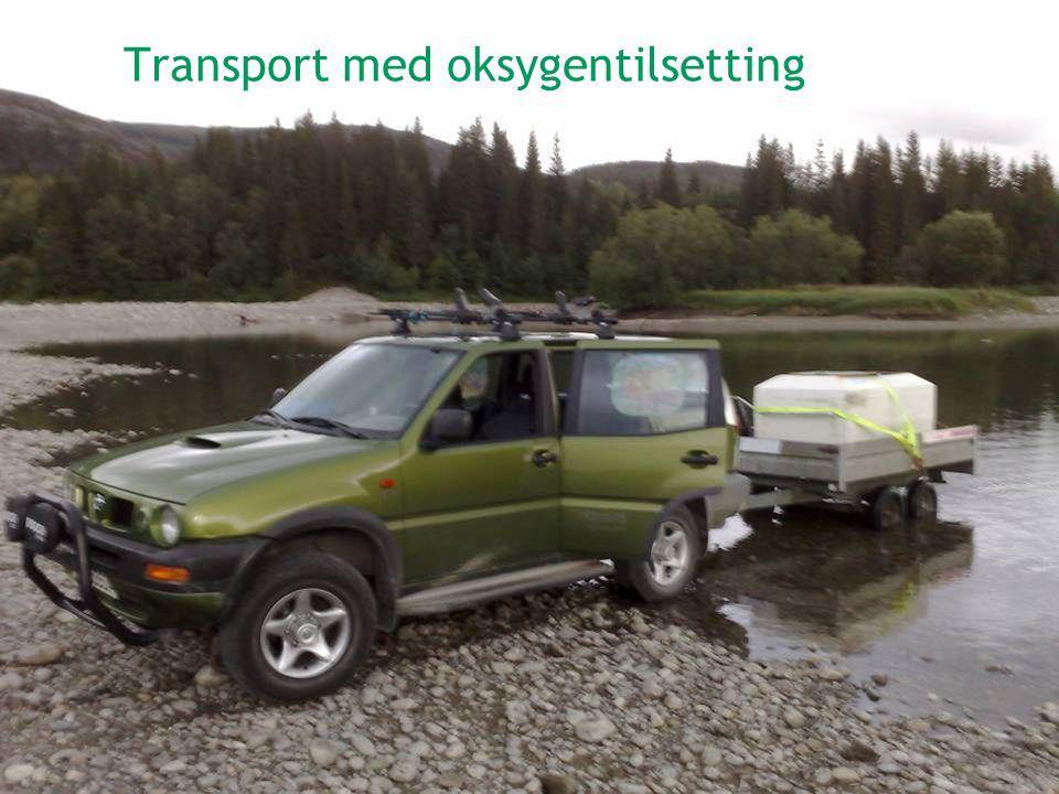 Transport med oksygentilsetting